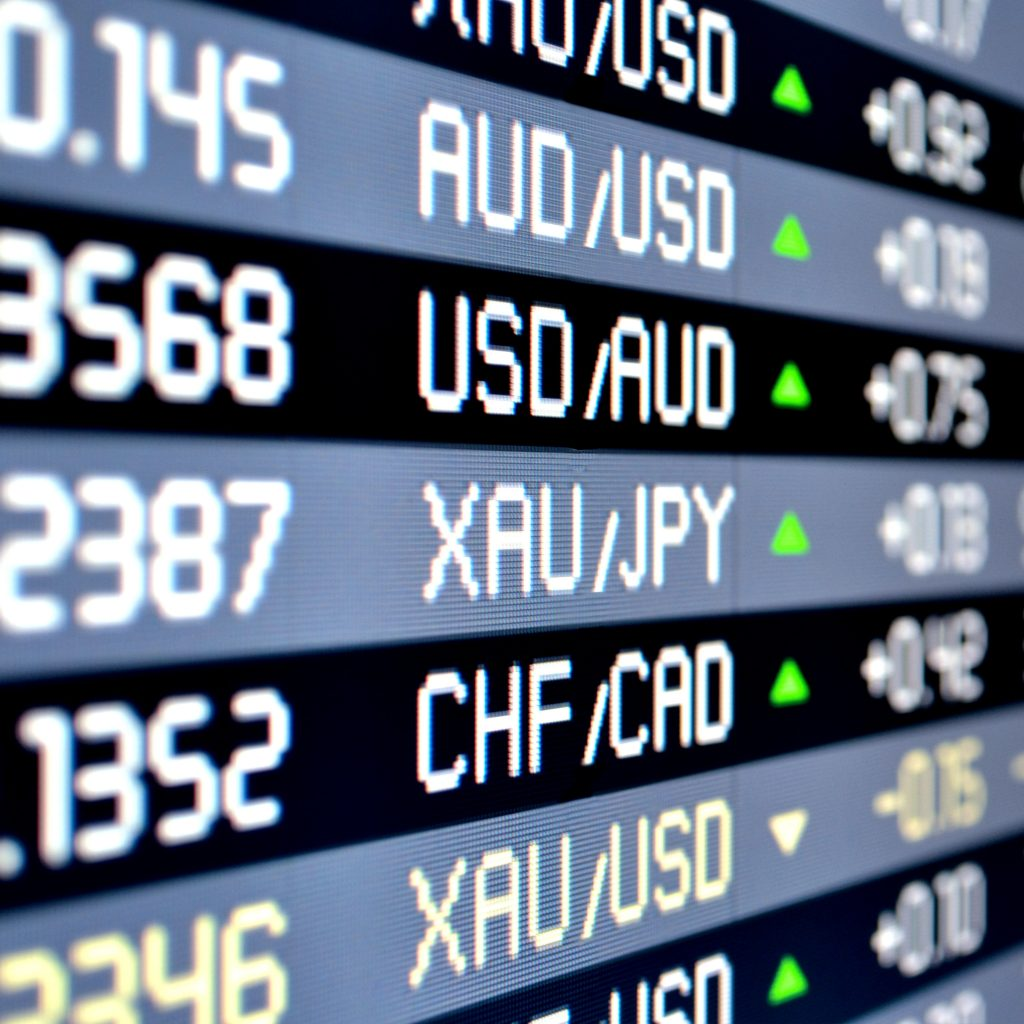 Currency Price Board